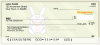 I'm Cute... It's Happy Bunny Personal Checks | IHB-09