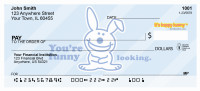 More Insults By It's Happy Bunny Personal Checks | IHB-13