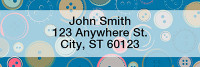 Cute as a Button Narrow Address Labels | LRGEP-002
