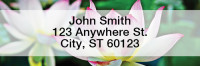 Flowers Rectangle Address Labels | LROPC-09