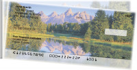 Pristine Mountain Lakes Side Tear Personal Checks  | STSCE-77