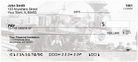 Old Time Trains Personal Checks | TRA-01