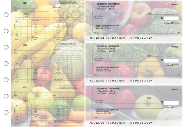 Fresh Produce Multi-Purpose Counter Signature Business Checks | BU3-7CDS09-MPC