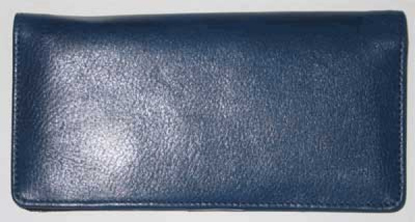 Blue Leather Cover | CLP-BLU01