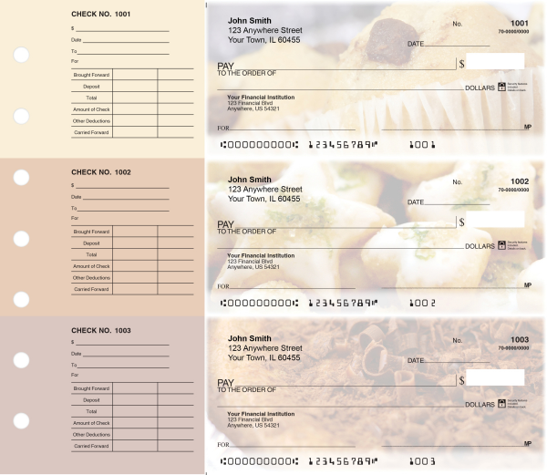 Bakery Designer Deskset Checks | DS-CDS04