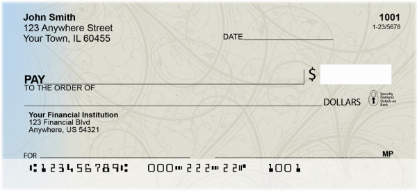 Chiseled Stone Personal Checks | GEO-15