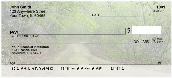 Roads Less Traveled Personal Checks | SCE-42