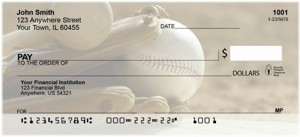 It's all about the Baseball Personal Checks | SPO-A4